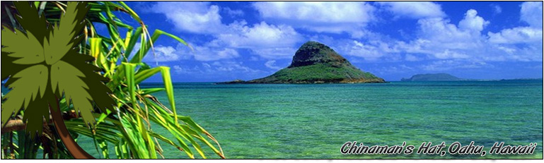 Chinamans's Hat, Oahu, Hawaii